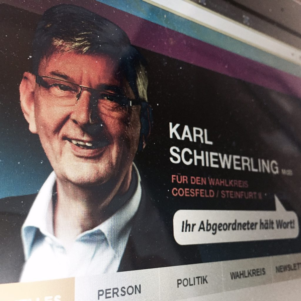 Screenshot: karl-schiewerling.de