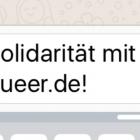 Jens Riewa gegen queer.de: Homosexualität ist keine Verleumdung!