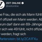 """Die transfeindliche Promo einer Martenstein-Kolumne und die doppelte Leserverachtung der """"Zeit"""""""