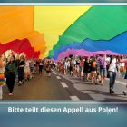 Dringender Hilferuf aus Polen an die deutsche Community und den Berliner  CSD