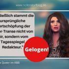 """""""Hitler-Transe"""": Nina Queer belügt (schon wieder) ihre Fans"""