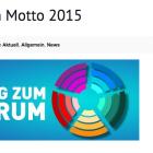 """Das Berliner CSD-Motto 2015:  """"Wir sind alle anders. Wir sind alle gleich."""""""
