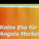 """""""Es geht um die Zukunft unserer Gesellschaft. Daher: <br />Keine Ehe für Angela Merkel!"""""""
