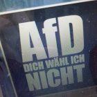 """""""AfD – Dich wähl ich nicht"""" – das reicht nicht!"""