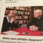 SPIEGEL-Redakteur Walter Mayr muss während Kardinal-Interview mal kurz auf Toilette