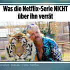 """Netflix-Serie: """"BILD"""" macht schwulen """"Tiger King"""" zum Dessous-Sexmonster"""